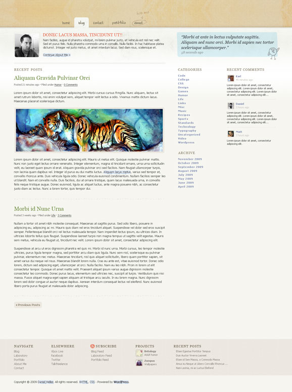 jblog free wordpress theme