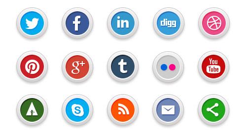 social media icons 5