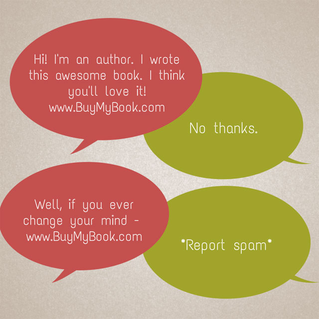 Book Marketing Social Media Spam