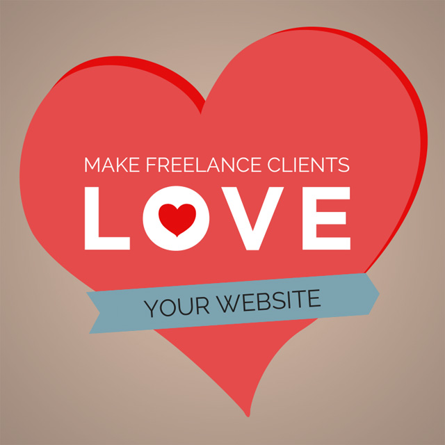Make freelance clients love your website.