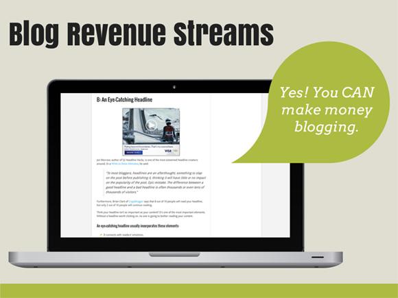 Blog Revenue Streams
