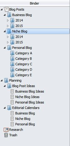 Scrivener Multi-Blog Template