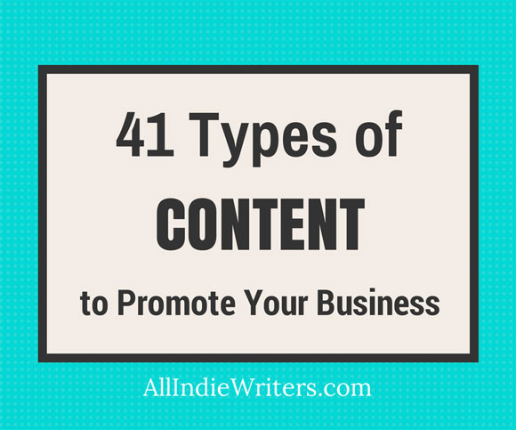 41 Types of Content
