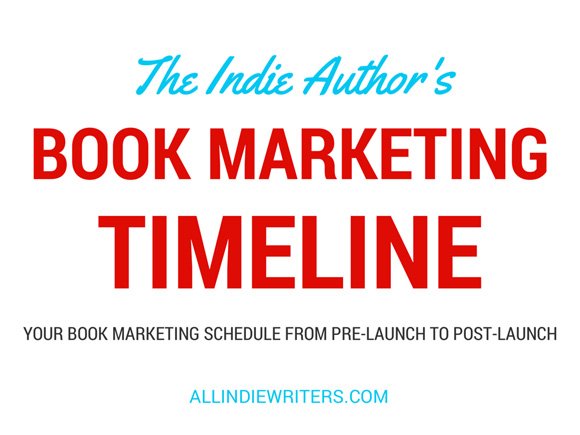 book marketing timeline
