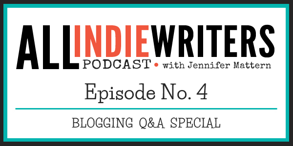 Podcast Ep 4 - Blogging Q and A Special