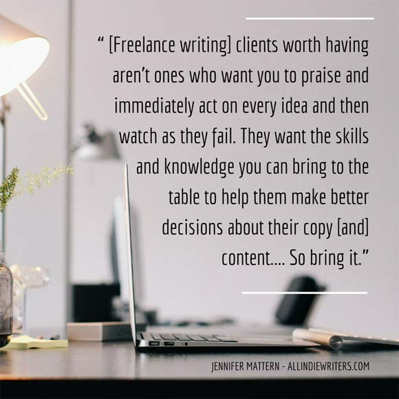 Freelance writing clients worth having