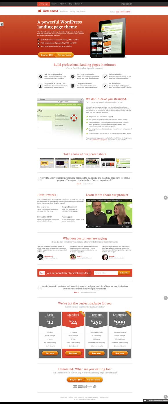 justlanded Top Result 60 Awesome Wordpress Templates for Authors Picture 2017 Xzw1