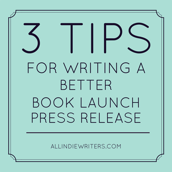 how to write a launch press release