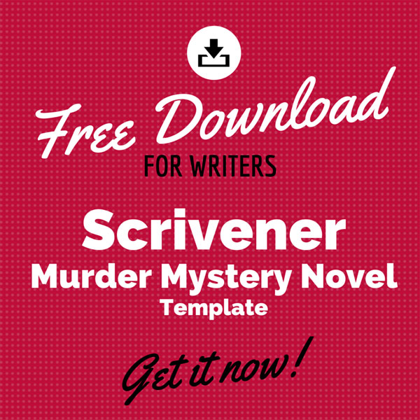 Free scrivener murder mystery novel template for Mystery novel outline template