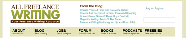 All Freelance Writing blog posts in header