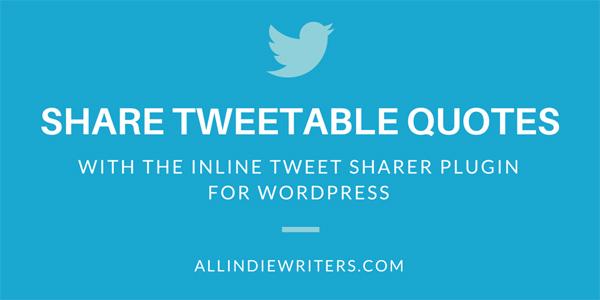 Inline Tweet Sharer Plugin for WordPress