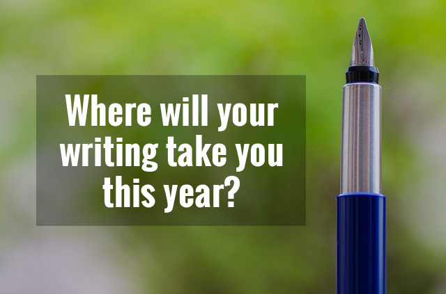 Where will your writing take you this year?