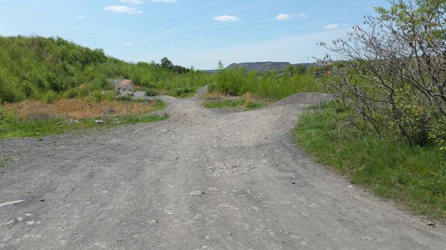 Centralia, PA - Trails leading closer to the burn zone