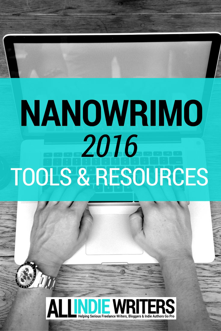 NaNoWriMo 2016 Tools & Resources