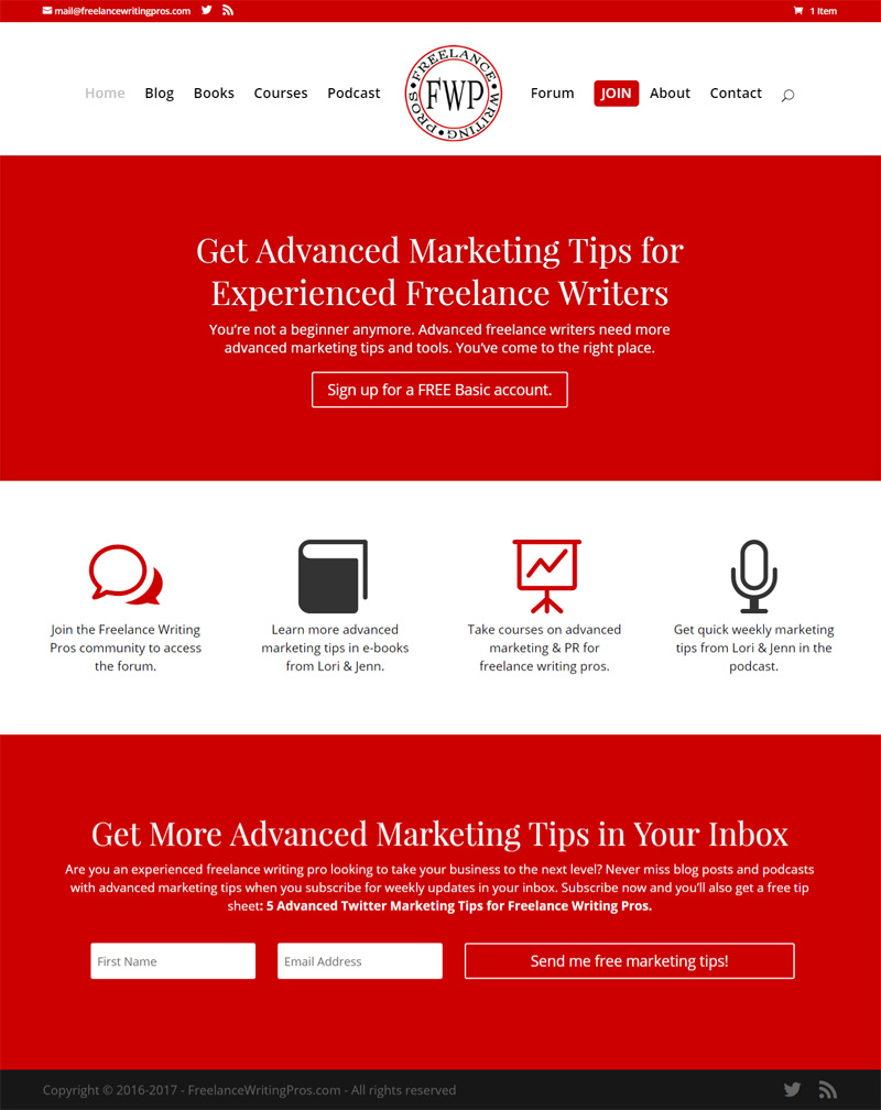 lance writing online sites advanced marketing tips for experienced lance writing pros
