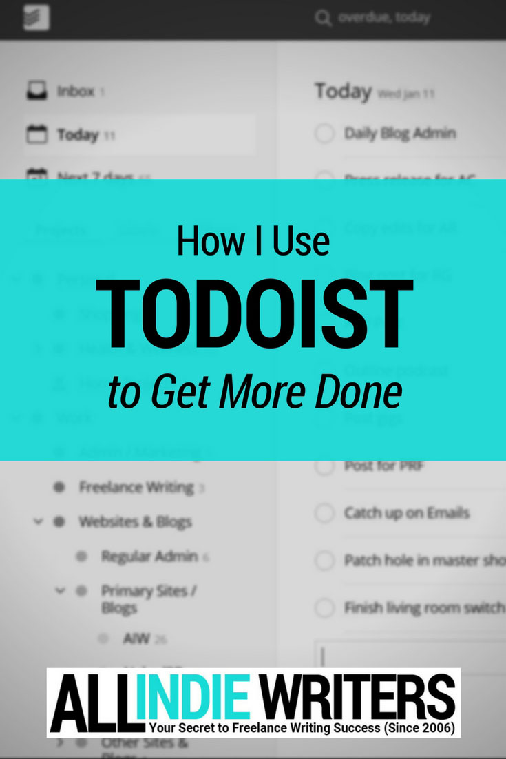 How I Use Todoist to Get More Done