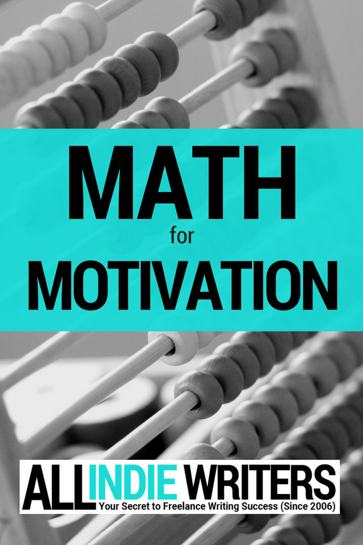 Math for Motivation for Writers