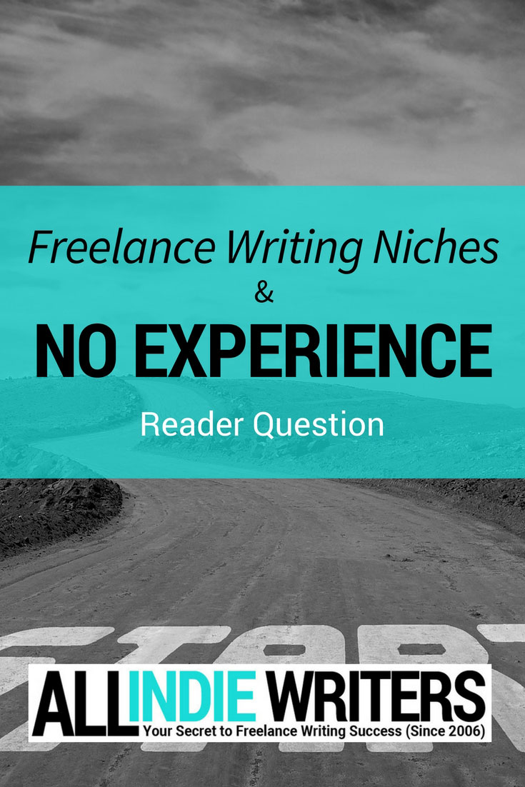 Freelance Writing Niches and No Experience