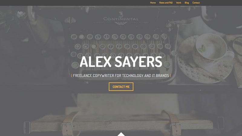 Alex Sayers