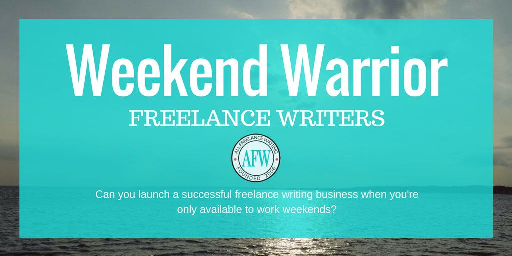 Weekend Warrior Freelance Writers
