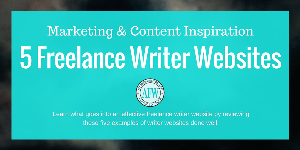 Writers websites