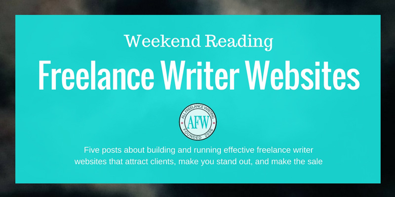 Weekend Reading: Freelance Writer Websites