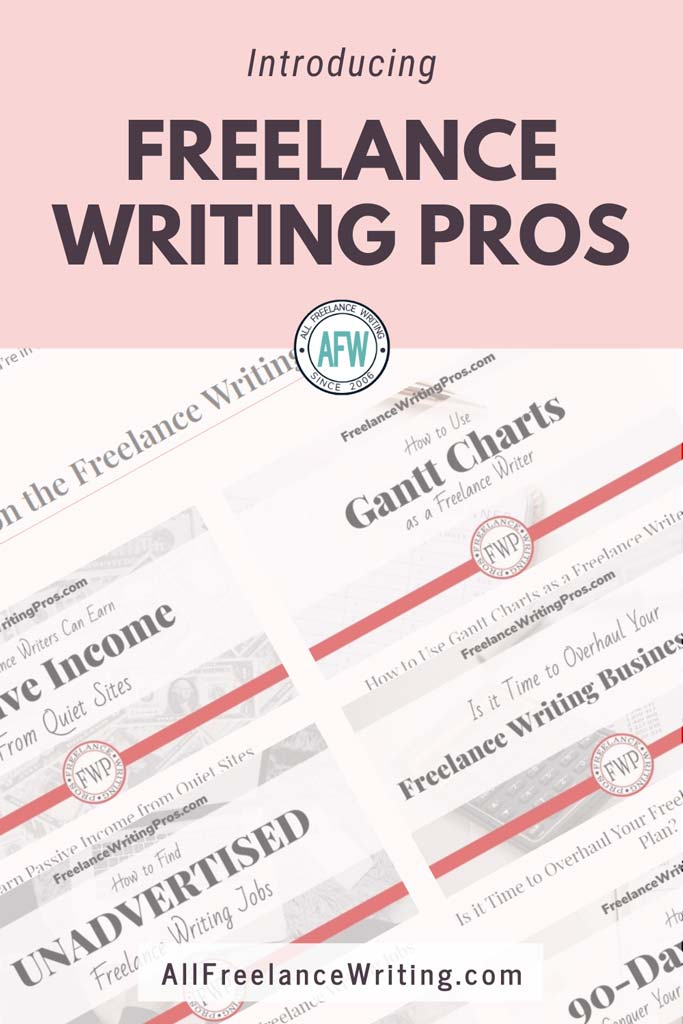 Introducing Freelance Writing Pros - All Freelance Writing