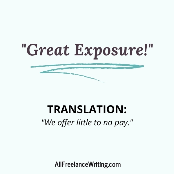 Freelance Writing Job Ad Translations - Great Exposure - Translation - We offer little to no pay - AllFreelanceWriting.com