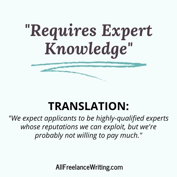 Freelance Writing Job Ad Translations - Requires expert knowledge - Translation -